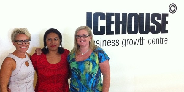 Carollyn Chaplin - Business Coach | Icehouse | Lufi Rasmussen - Business Coaching Client | Debra Chantry - Business Coach | Icehouse