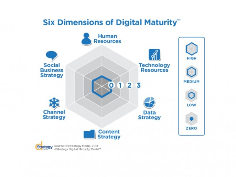 6 dimensions of digital maturity - Business Coach | Digital Strategy